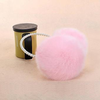 Pearl Winter Earmuffs, Women Fur Ear Warmers, Acessórios de Cabelo