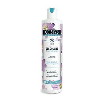 Shower Gel with Organic Mallow 380 ml of gel