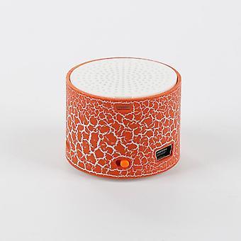 Mini Portable Speakers Crack Usb Radio Fm Mp3 Stereo Sound For Computer Mobile