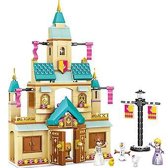 Disney Frozen 316kpl Unelma Prinsessa Elsa Ice Castle Anna Set Rakennusmalli