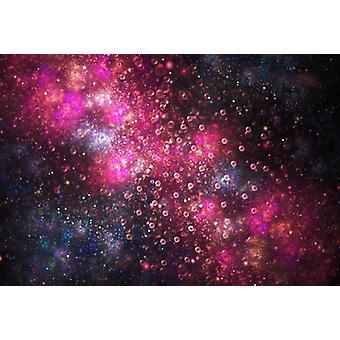 Laeacco Fantasy Glitter Star, Syntymäpäivä Rakkausjuhla Vauva Valokuva Tausta