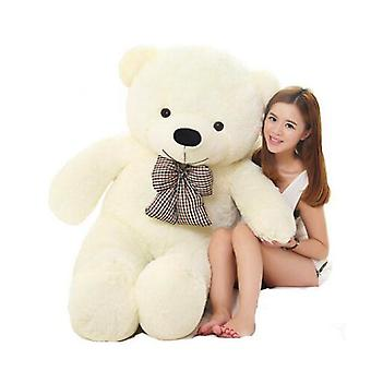 White Stuffed Giant Teddy Bear Plush Toy Big Embrace Kids Doll Lovers/christmas Gifts Birthday Gift