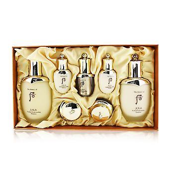 Cheongidan radiant special set: balancer (150ml + 25ml), emulsion (110ml + 25ml), essence 8ml. cream 10ml, eye cream 5ml 249434 7pcs