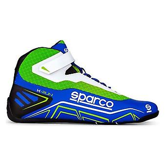 Racing boots Sparco Blue Green (Talla 47)