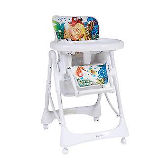 Lorelli kinderstoel Lollipop, hoogte, rugleuning verstelbaar, dubbele tafel