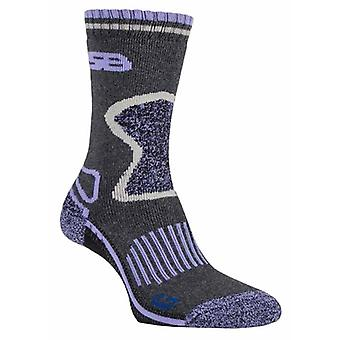 2 Pairs Ladies Blueguard Wool Hiking Socks