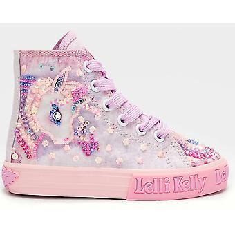 Lelli Kelly LK7020 Fluttershy Pink Unicorn Baseball Boots
