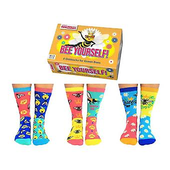 Chaussettes United Oddsocks Bee Yourself