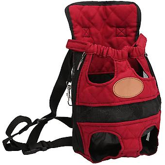 Beine-aus Front Pet Dog Carrier, Freisprecheinrichtung verstellbare Rucksacktasche
