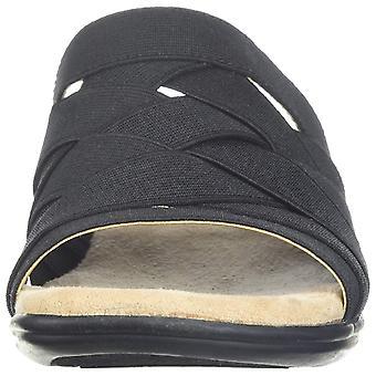 LifeStride Womens Emilia Open Toe Casual Sandals