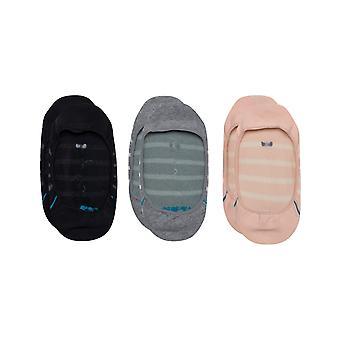 Holdning Liner 3 Pack No Show Sokker i Multi