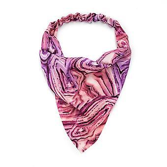 أكياس النساء الحجاب كل ch ربطة عنق صبغ ربطة الرأس الموثق الثلاثي
