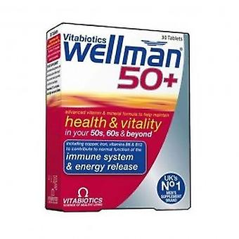 Vitabiotics - Wellman 50+  30 VTabs