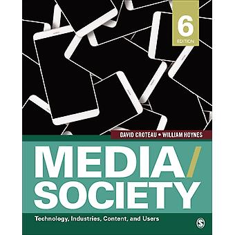 MediaSociety par David R. CroteauWilliam D. Hoynes