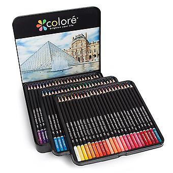 H & B hb-cptb072 48/72 الألوان قبل شحذ الزيتية الملونة قلم رصاص مجموعة رسم أقلام الرسم الطباشير الملون لرسم تلوين مدرسة الفن suppli awo12294