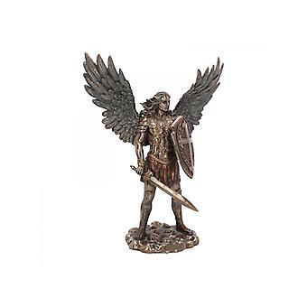 Hl. Michael der Erzengel Bronzestatue