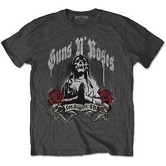 Guns N' Roses - Death Men Men's XX-Large T-Shirt - Charcoal Grey