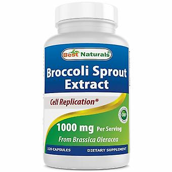 Best Naturals Broccoli Sprout Extract, 500 mg, 120 Caps