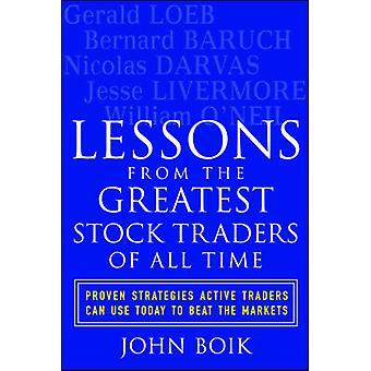 Lehren aus den größten Aktienhändlern aller Zeiten