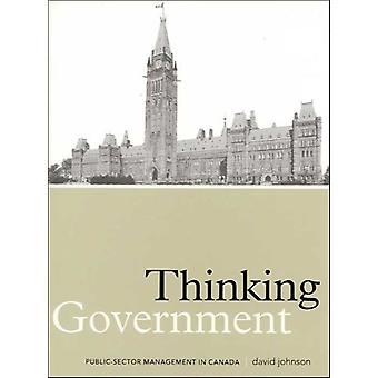 Thinking Government Pb by Dr David Johnson