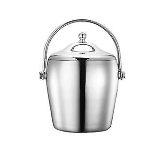 Ice wine bucket, ice bucket champagne ice bucket with lid beverage bucket