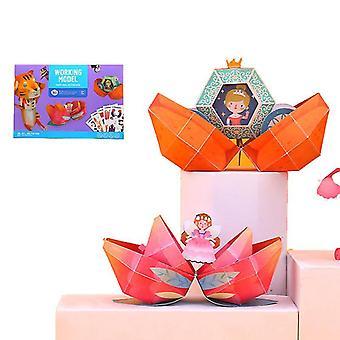 Children's Fun Handmade Children Diy Handmade Three-dimensional Origami Toys(Style1)
