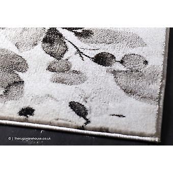 Watercolour Floral Grey Rug
