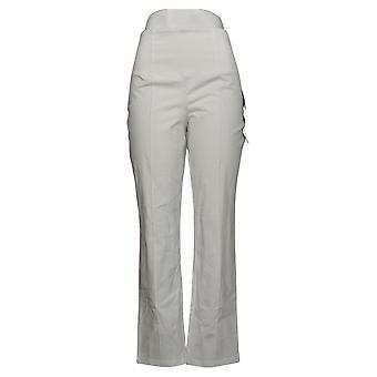 Kvinder med Control Kvinders Bukser Regelmæssig Mave Control White A393901