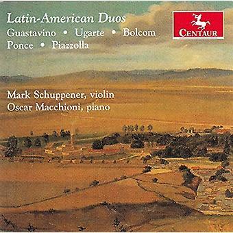 Bolcom / Schuppener / Macchioni - Latin-American Duos [CD] USA import