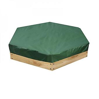 Evago Sandbox Cover-green Protective Cover For Sandbox With Drawstring-waterproof Sandpit Cover For Sandbox Oxford Cloth Sandbox Canopy For Home Garde