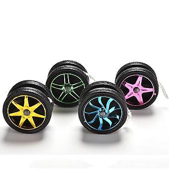 Unique Wheel Shape Design Ball Bearing String Babies Toy