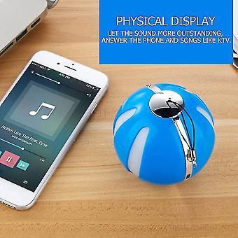 Q7 nieuwe draadloze Bluetooth-luidsprekers met knipperende lichten outdoor draagbaar