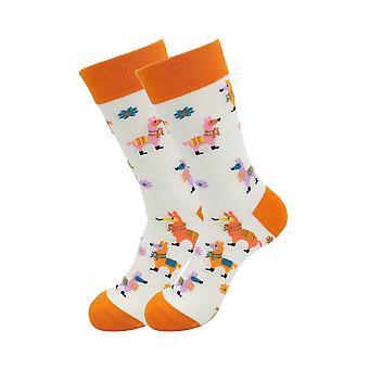 Sick Socks Festive Exotic Animals