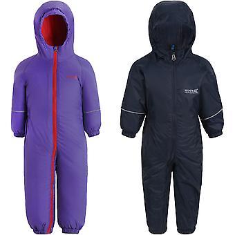 Regatta Kids Childrens Splosh III Outdoor Thermal Waterproof Rain Puddle Suit