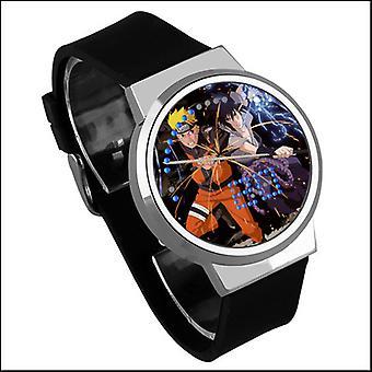 Reloj táctil digital Led luminoso impermeable - Naruto