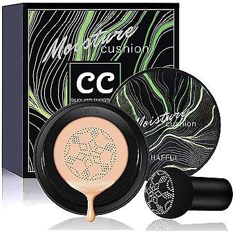 Caraele Air Cushion Cc Cream Concealer Mushroom Head Brush Makeup Foundation Moisture