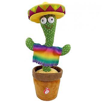 Cactus Peluche Jouet Secouant Dancing Recording Lighting Cactus Cactus Cactus Cactus
