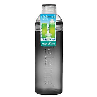 Sistema Trio Drink Bottle 700ml, Black