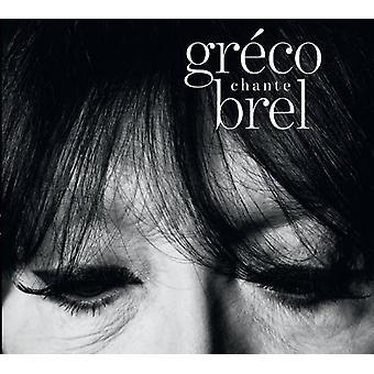 Juliette Greco - Greco Chante Brel [CD] USA import