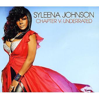 Syleena Johnson - Chapter V: Underrated [CD] USA import