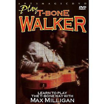 Max Milligan - Play T-Bone Walker [DVD] USA import