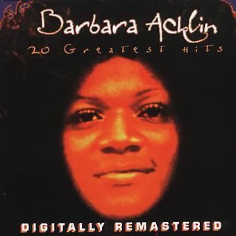 Barbara Acklin - 20 Greatest Hits [CD] USA import
