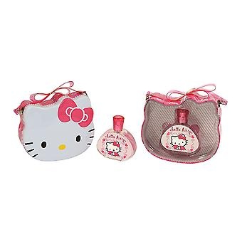 Hello Kitty Gift Set 100ml EDT + Metal Lunchbox