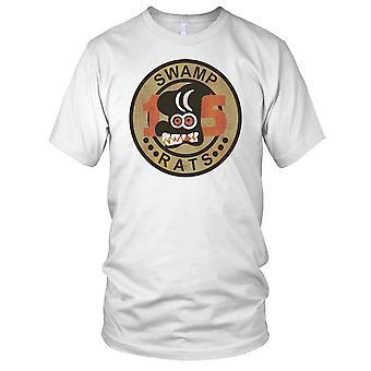 US Navy elven skvadron 15 sumpen rotter - Vietnamkrigen Grunge effekt Mens T-skjorte