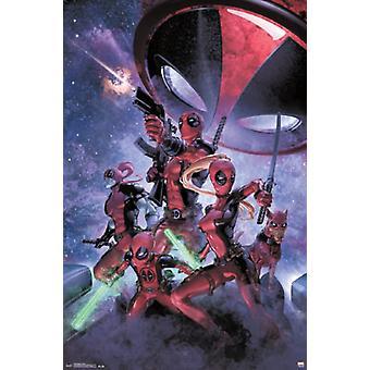 Deadpool - Family Poster Poster Print