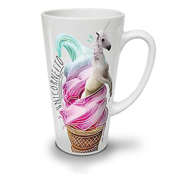 Unicorn is nye hvit te kaffe keramiske Latte krus 12 oz | Wellcoda