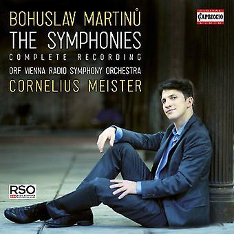 Martinu / Meister - Symphonies [CD] USA import