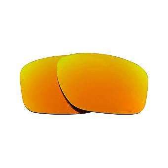 Replacement Lenses for Oakley Sliver Sunglasses Gold Mirror Anti-Scratch Anti-Glare UV400 by SeekOptics