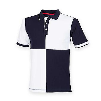 Front Row Mens Quartered House Polo Shirt