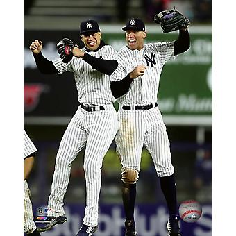 Giancarlo Stanton & Aaron Judge 2018 Photo Print